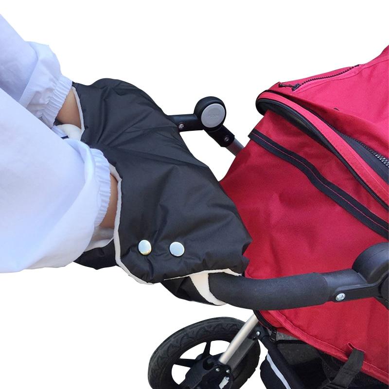 Hiver chaud landau poussette moufles main couverture Buggy Muff gant chariot poussette landau poussette bébé poussette bébé poussette pour poupées