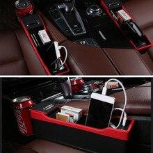 Yeni araba Styling araba koltuğu Gap stoling kutusu içecek tutucu Ford Focus 2 için 3 4 Fusion Fiesta ranger mk2 mk3 mk4