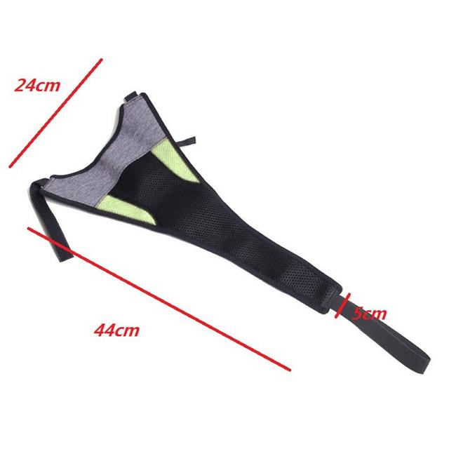 Indoor MTB Bike Trainer Frame Bicycle Sweat Cover Guard Net Catcher Absorbs Sweat Strap Protection Turbo Trainer Elastic Belt 4