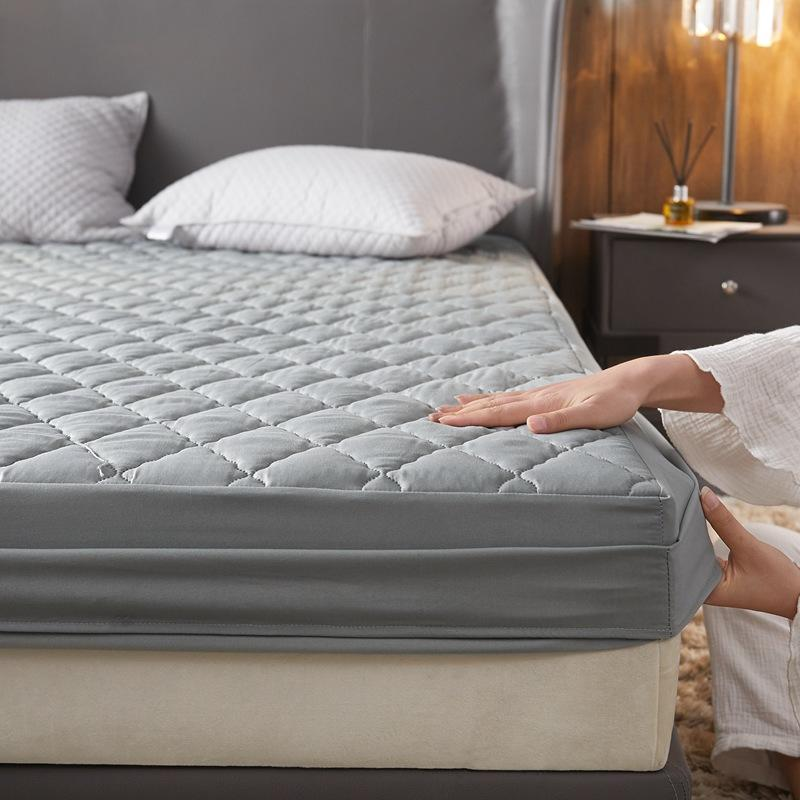 Bonenjoy Waterproof Thicken Bed Covers Quilted Filling Mattress Pad Queen Size Mattress Protecoter 180*200 King Mattress Covers