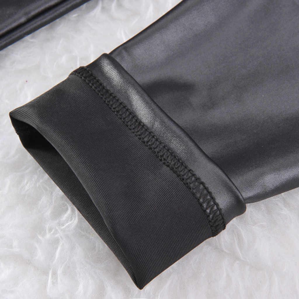 ผู้หญิงหนังผอมกางเกง PLUS ขนาดลำลองกางเกงสูงเอวกางเกงขายาวฤดูใบไม้ร่วงป่าเซ็กซี่ Office เลดี้กางเกง штаны
