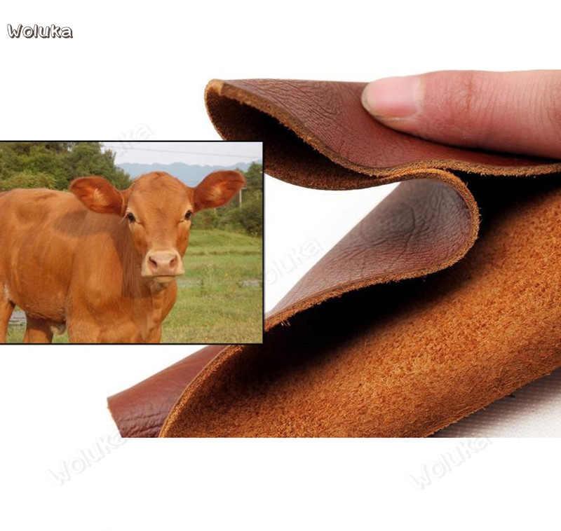غطاء عجلة القيادة أصيلة أعلى طبقة جلد البقر أغطية جلد للجسم كله CD50 Q02