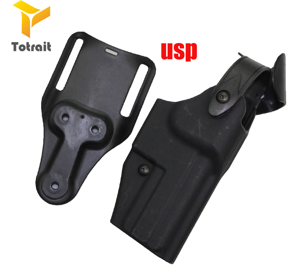 Safariland Military M9 GL17 1911 USP P226 Gun Belt Holster Gun Carry M9 Pistol Holster Tactical Gear Hunting Gun Holster black in Holsters from Sports Entertainment