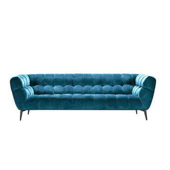 Chesterfield Fabric Sofa 1