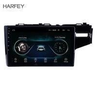 Harfey 10.1 inch 2.5D IPS Screen Android 8.1 Car Multimedia Player for 2014 2015 HONDA JAZZ/FIT (RHD) GPS Navigation Radio Unit