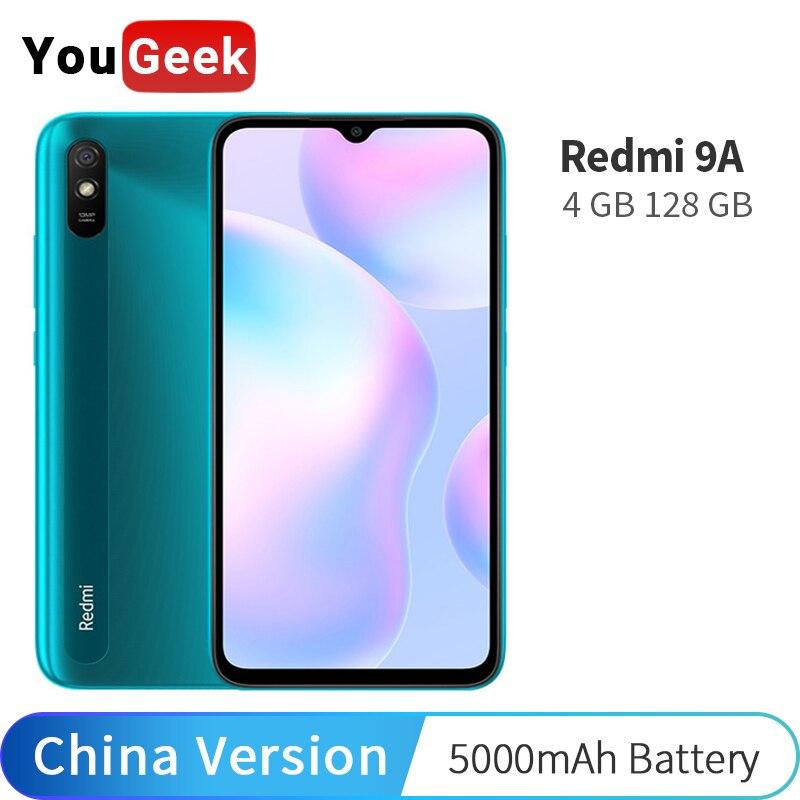 """Original Xiaomi Redmi 9 A 4GB 128GB 9A Smartphone 13MP AI Camera MTK Helio G25 Octa Core 5000mAh 6.53"""" DotDrop Display Cellphone Cellphones    - AliExpress"""