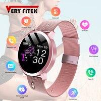 2020 de las mujeres de la moda reloj inteligente Q8 PRO impermeable de Monitor de presión arterial inteligente regalo reloj pulsera para mujer