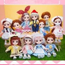 1/12 мини кукла Ангел милый около 16 см тренд ребенок серии
