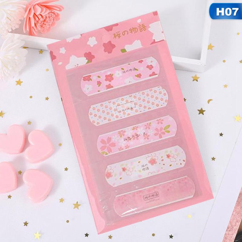 1 Sheets Waterproof Cute Cartoon Kids Aid First Aid Emergency Kit Adhesive Bandage Wound Plaster Kits