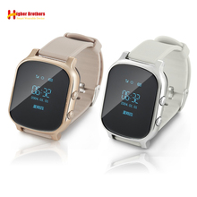 Smart Anti Lost Child GPS WIFI Tracker SOS Call Remote Monitoring Position Phone Kids GPS student Watch Compatible IOS & Android elderly smart watch pedometer sos call remote control anti lost gps tracker wifi sim card watch for old men women ios android