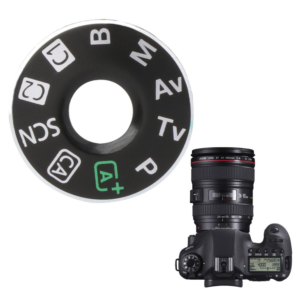 Camera Function Dial Mode Interface Cap Button Repair Parts For Canon EOS 6D New