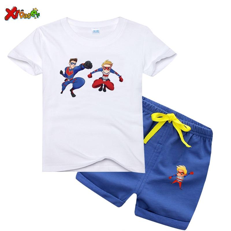 Henry Danger T Shirt Clothing Set Boys Tshirt Kid Danger T-Shirt Big Man Graphic Tee Shirt Summer Short Sleeve Print Tshirt