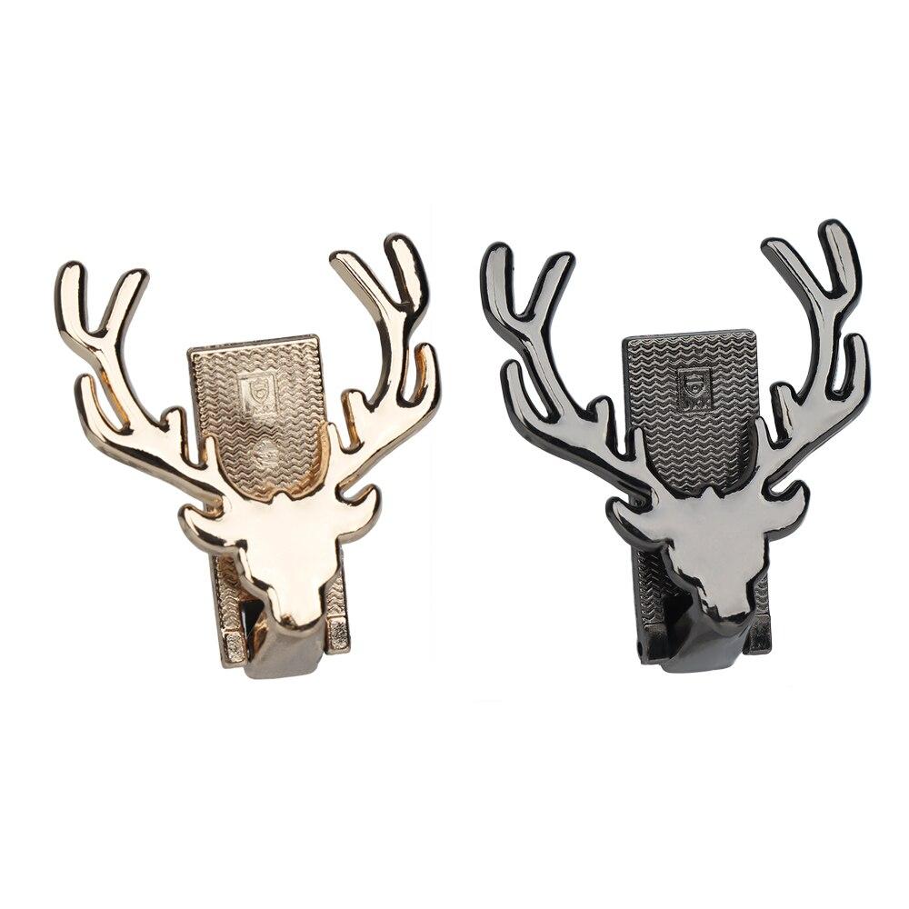 1PC Deer Design Metal Bag Decoration DIY Handbag Craft Shoulder Bag Hardware Part Purse Closure Bag Parts Accessories