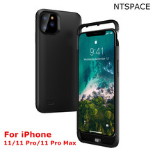 For iPhone 11 Pro Max Battery Case For iPhone 11 Pro Power Case Extenal Battery Power Bank Pack Shockproof Cover For iPhone 11