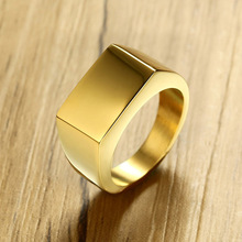 mens rings Simple Naked Mens Ring 10MM Stainless Steel Wholesale for women  jewelry