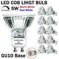 Диммисветодиодный светодиодные лампы GU10 направленсветильник, 50 Вт, эквивалент 5 Вт, диммируемая полностью стеклянная крышка, отражатель, св...