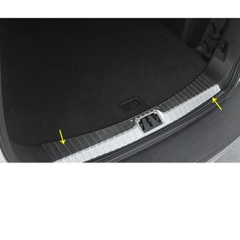 Moldura Interior interior de acero inoxidable para parachoques de maletero trasero, moldura para luz, 1 Uds. Para Ford Kuga 2017 2018 2019 2020