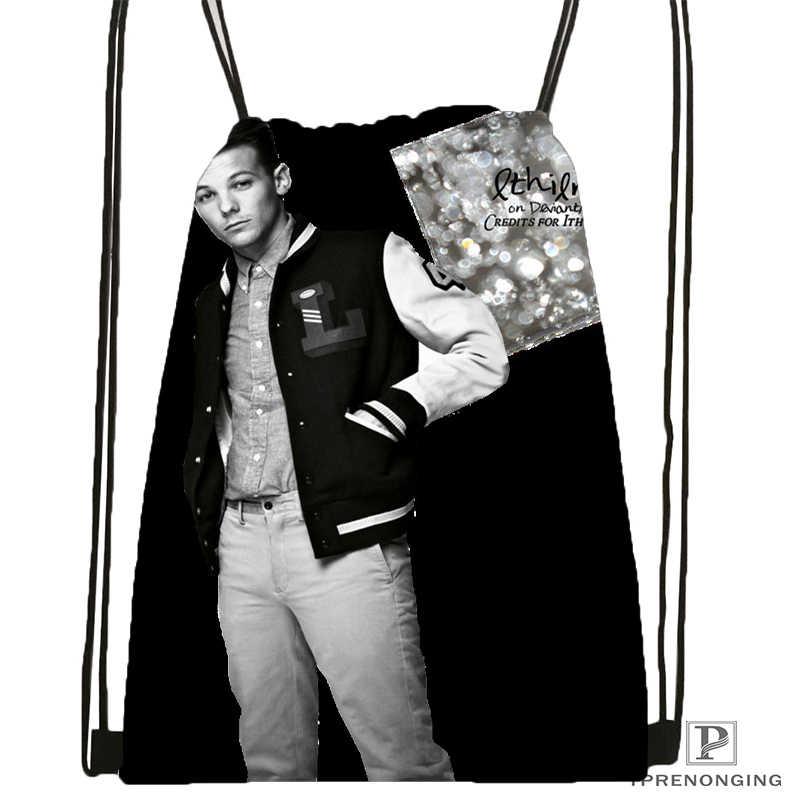 De Louis Tomlinson mochila bolsa mochila niños bolso (negro) x 31x40cm #180531-03-09