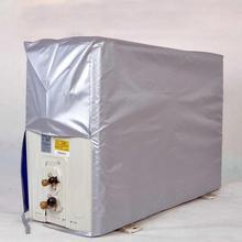 Для наружного кондиционера, серебряное покрытие, внутренний блок кондиционера, водонепроницаемый солнцезащитный крем, антисептические пылезащитные покрытия, инструменты PEVA