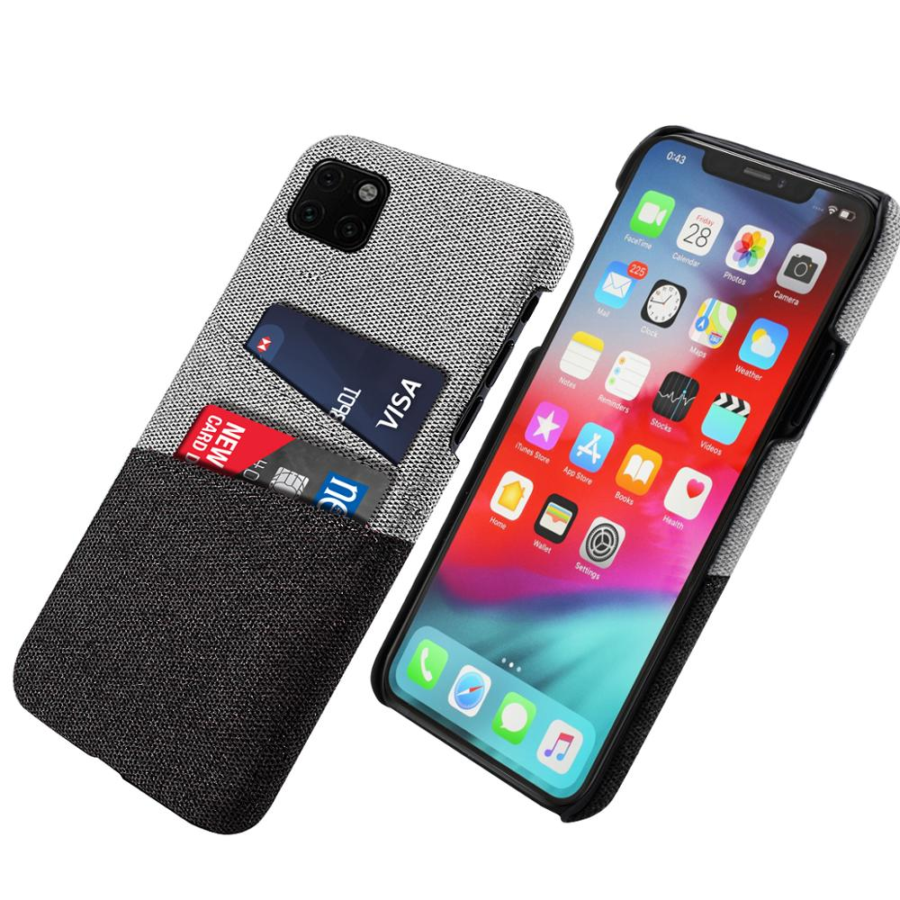 for <font><b>iphone</b></font> 11 Pro Max 11 pro <font><b>Case</b></font> Slim PC Protective Matte Fabric Cloth Cover for <font><b>iPhone</b></font> 5 <font><b>5S</b></font> SE 6 6s 7 XR X XS <font><b>Case</b></font> Card <font><b>Wallet</b></font> image