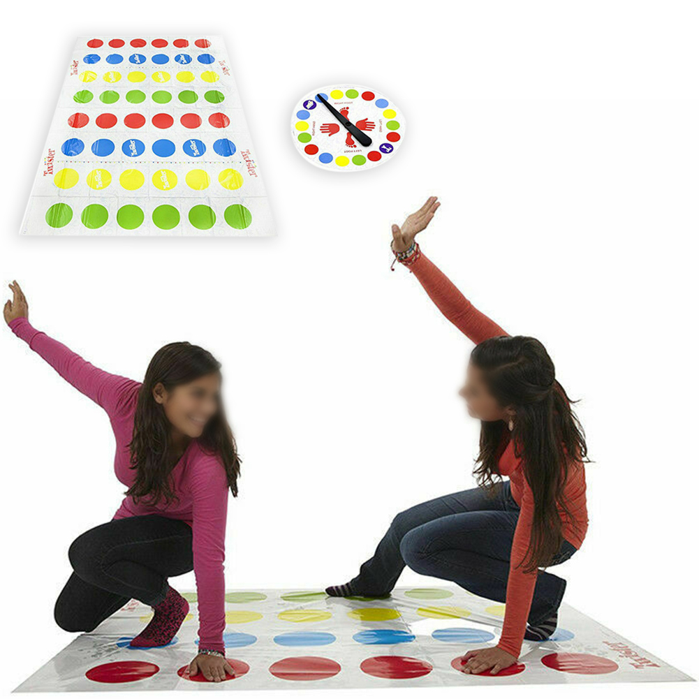 Fun Game Plastic Educational Colorful Party Body Moves Outdoor Activity Toys Kids Adults Gift Interactive Kindergarten