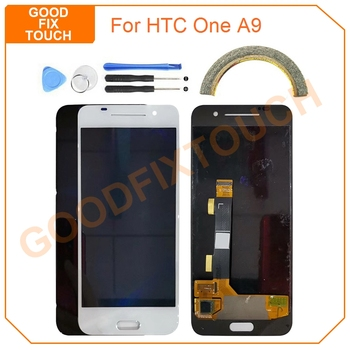 """Original 5.0"""" LCD Screen For HTC One A9 A 9 LCD Display Touch Screen Digitizer Assembly For HTC A9 LCD Replacement Parts"""
