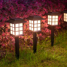 Outdoor Led Solar Light For Garden Decoration Lawn Lamp Home Pathway Bulb Light Sensor Waterproof Solar Street Illumination