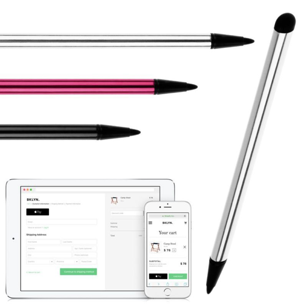 Universal Capacitive Stylus Touch Screen Pen For IPad Pencil 10.5 Mini Huawei Stylus Tablet Pen Phone