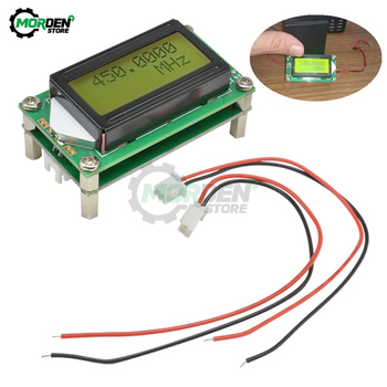 цена на 1-1200mhz 1MHz-1.2GHz RF Frequency Counter Tester Digital PLJ-0802-E LCD0802 DC 9-12V  LCD Meter For Ham Radio DIY Kit
