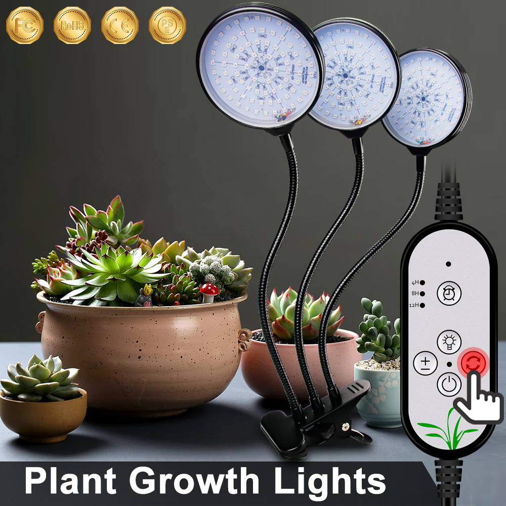 USB LED Grow Light 5V LED Grow Light Full Spectrum For Plants Lamp Aquarium For LED Indoor Vegetable Flower Seedling Grow Tent