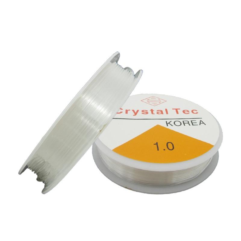 God Sail Crystal Elastic Line (Core) Transparent | String Bracelets DIY Beaded Bracelet Thread with Bead Pull Beaded Wire|Garage Door Hardware| |  - title=