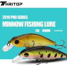 Artificial Bait Minnow Fishing Lure 11g 90mm Min010 Pike Fishing Tackle Professional Fishing Tools Hard Lure Wobblers