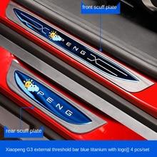 Barre de seuil de bienvenue pour Xpeng G3, pédale de décoration anti rayures et anti piétinement, Modification spéciale Tucki G3