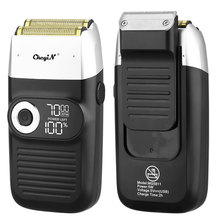 Razor Hair-Trimmer Shaving-Machine Reciprocating Beard Rechargeable-Electric-Shaver Cordless