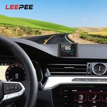 Medidor Digital inteligente HUD P10 para vehículos eléctricos, pantalla multifunción OBD, velocímetro, medidor de kilometraje de RPM y temperatura