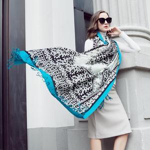 Image 1 - Новинка 2019, Модный зимний шарф для женщин и мужчин, Универсальный Детский шарф, утепленный шерстяной воротник, шарфы для мальчиков и девочек, хлопковый шарф унисекс