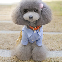 Cool Dog Clothes Bow Dog Jumpsuit Romper Dog Coats & Jackets