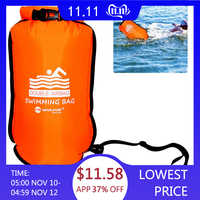 20L Airbags Thickened Inflatable Swimming Bag Ring Float Anti-snoring Storage Waterproof PVC Lifebuoy Buoy Prevent Drowning