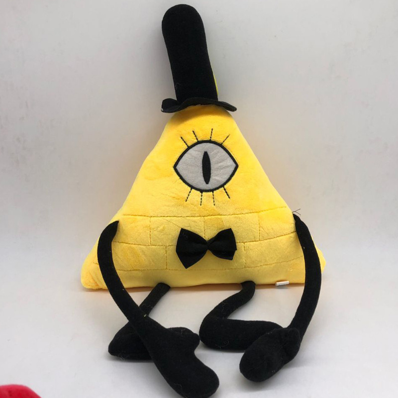 Stuffed Toys Bill Cipher Stuffed Doll Christmas Birthday Gift For Kids Children Cartoon Anime Games Surrounding Toys Dolls M008