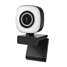 4K/2K/1080P Video Camera USB Plug and Play Webcam with Built in Microphone Light for Stream Video Volg Photo Studio Web cam