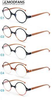Retro Round Anti Blue Light Computer Reading glasses For Women&Men Spectacle Glasses reading TR90 Frame Unisex