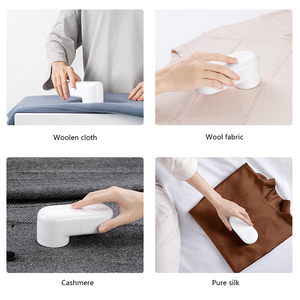 Image 3 - Xiaomi Mijia Mini Clothing Hair Ball Trimmer Lint Remover  Electric Mesh Fuzz Trimmer Micro USB Rechargeable for Clothes Sweater