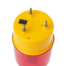 0,3 Вт Аварийный стробоскопический Предупреждение ющий светильник на солнечных батареях, беспроводная мигающая Светофорная лампа LX9A