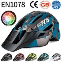 BATFOX bike helm fahrrad helm integral geformten mtb helme casco batfox mtb casque velo radfahren helme Sicherheit Ausrüstung