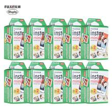 10 200 Fuji Fujifilm Instax Mini 11 9 8 7S 70 90กระดาษฟิล์มWhite Edge 3นิ้วสำหรับกล้องทำความสะอาดผ้า
