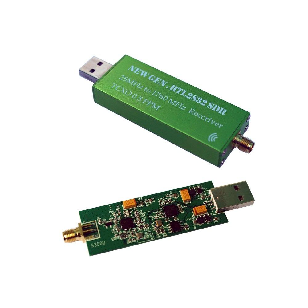 С TCXO температура компенсируется кварцевый генератор RTL-SDR приемник RTL2382U SDR программное обеспечение радио приемник TXCO