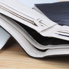 Baellerry Brand Casual Short Men Wallets Coin Pocket Canvas Money Bag Card Holder Wallet Men Clutch Small Male Purse W079