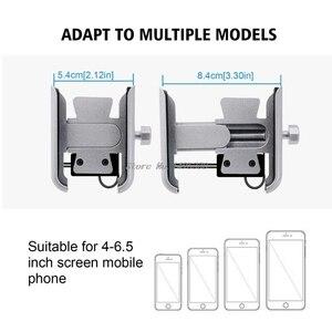 Image 5 - Universel moto vélo guidon Mobile support pour téléphone support de montage avec chargeur USB pour 4 6.5 pouces téléphone portable en gros