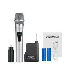 Mikrofon bezprzewodowy ręczny dynamiczny profesjonalne Studio Vhf System mikrofonowy kar) noce i strony domu, System PA głośniki