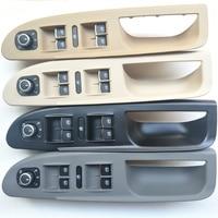 Master Window Mirror Switch Panel Trim Bezel Cover + Switch Buttons 3C1867171 For Volkswagen VW Passat B6 2006 2010